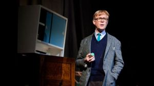 Alex Jennings as Alan Bennett. Photo by Jayne West.