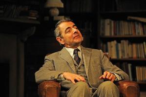 Rowan Atkinson as St John Quartermaine. Photo by Nobby Clark.
