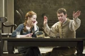 Emma Lowndes as Liza and Paul Higgins as Boris. Photo: Richard Hubert Smith