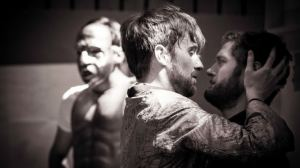 John Heffernan and Kyle Soller in rehearsal. Photo Johan Persson