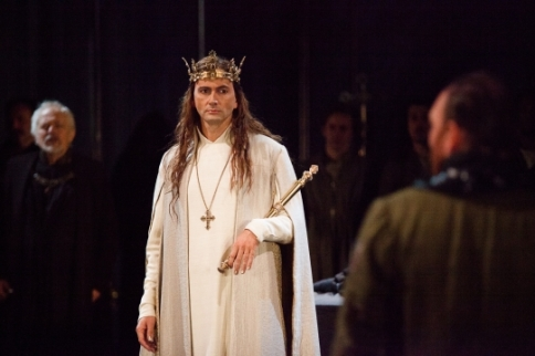 David Tennant as Richard II. Photo by Kwame Lestrade