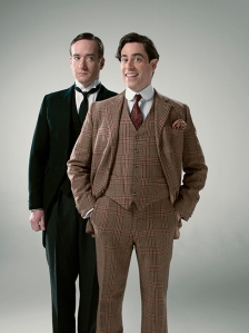 Matthew Macfadyen as Jeeves, Stephen Mangan as Wooster