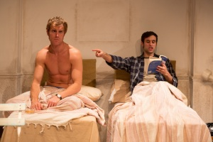 James Cartright as Simon and Rik Makarem as Toby. Photo  Scott Rylander