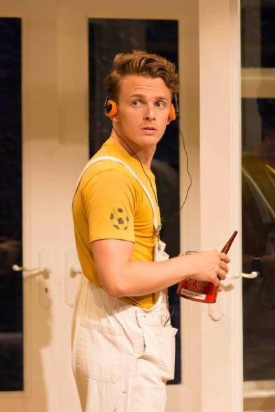Lewis Reeves in My Night With Reg. Photo Johan Persson